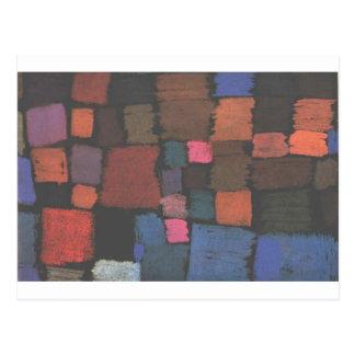 Carte Postale Venez pour fleurir par Paul Klee