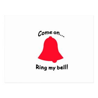 Carte Postale Venez sur… l'anneau ma cloche !