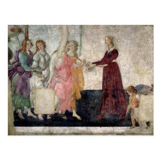 Carte Postale Vénus et les grâces