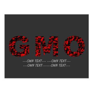 Carte Postale Vérité GMO de trou (ajoutez pour posséder le