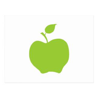 Carte Postale Vert pomme
