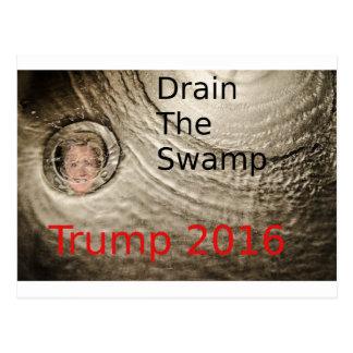 Carte Postale Vidangez la conception politique d'Atout-Clinton