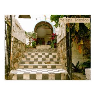 Carte Postale Vieille église - Yelapa, Mexique