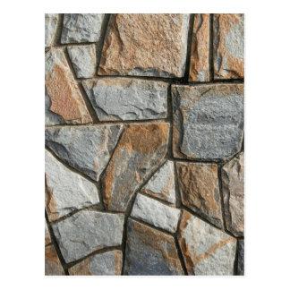 Carte Postale Vieille structure de mur en pierre