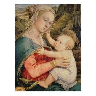 Carte Postale Vierge et enfant, c.1465