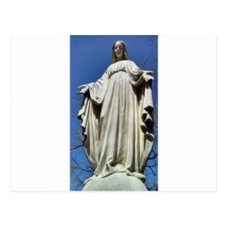 Carte Postale Vierge Marie béni