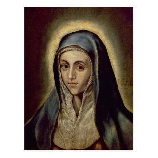 Carte Postale Vierge Marie, c.1594-1604