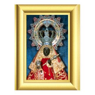 Carte Postale Vierge Marie noire