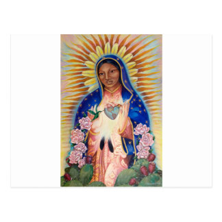 Carte Postale Vierge Marie - notre Madame Of Guadalupe