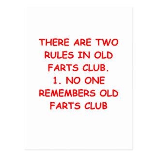 Carte Postale vieux club de pets