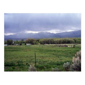 Carte Postale Viewng le ranch