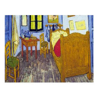 Carte Postale Vincent van Gogh 1888 la chambre à coucher chez
