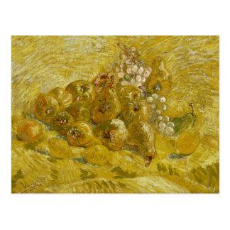Carte Postale Vincent van Gogh - coings, citrons, poires