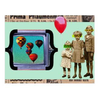 Carte postale vintage d'album