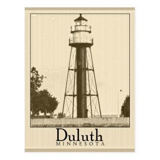 Carte postale vintage de Duluth Minnesota