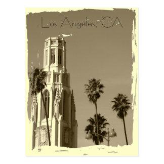 Carte postale vintage de Los Angeles de style !