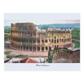 Carte postale vintage de Rome Colosseum