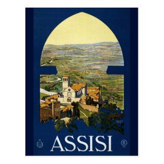 Carte postale vintage d'Italien de Francis de