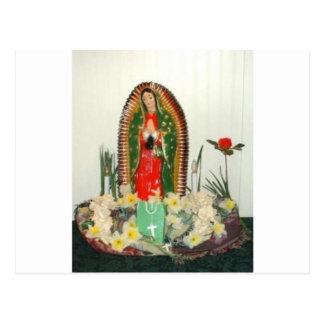 Carte Postale virgen Mary Maria