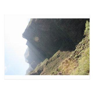 Carte Postale Visage de roche