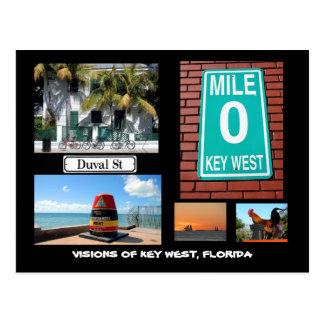 Carte Postale Visions de Key West, la Floride