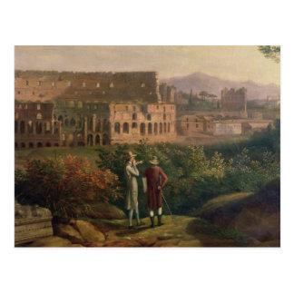 Carte Postale Visite de Johann Wolfgang von Goethe