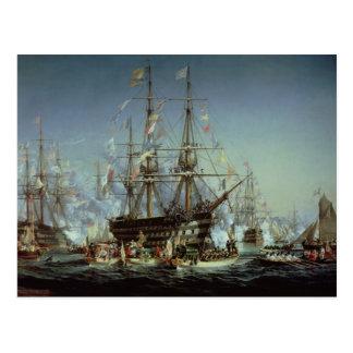 Carte Postale Visite de la Reine Victoria vers Cherbourg, 1858