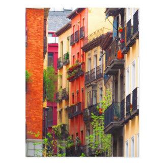Carte Postale Voisinage de Madrid, Espagne