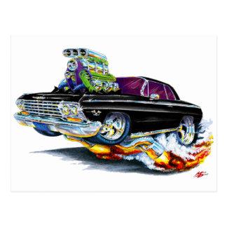 Carte Postale Voiture 1962-63 noire d'impala