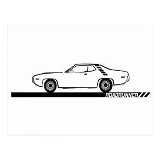 Carte Postale Voiture 1971-72 noire de Roadrunner