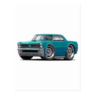 Carte Postale Voiture de 1965 GTO Teal