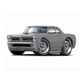 Carte Postale Voiture de gris de 1965 GTO