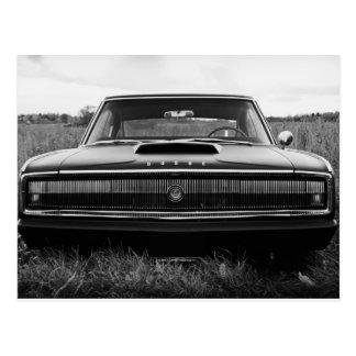 Carte Postale Voiture de muscle de chargeur de 1966 Dodge