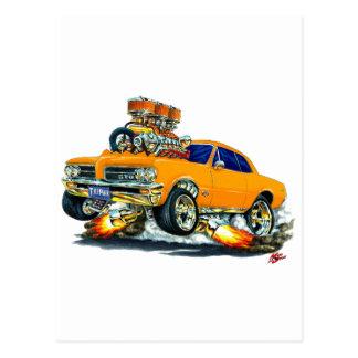 Carte Postale Voiture d'orange de 1964 GTO