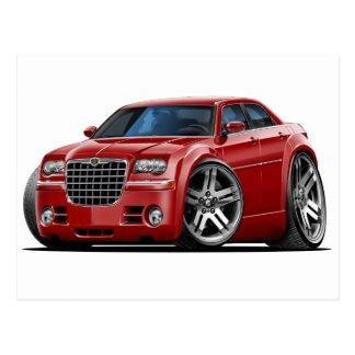 Carte Postale Voiture marron de Chrysler 300