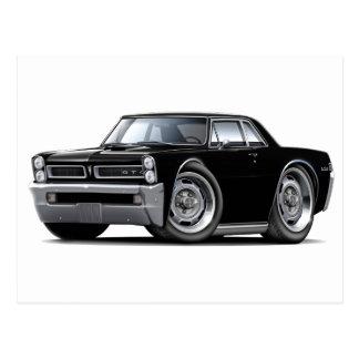 Carte Postale Voiture noire de 1965 GTO