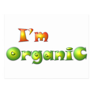 Carte Postale Volenissa - je suis organique