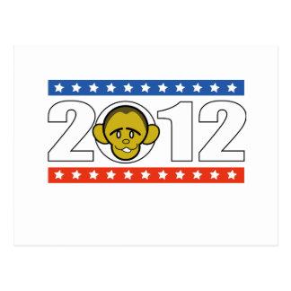 Carte Postale vote Barack Obama