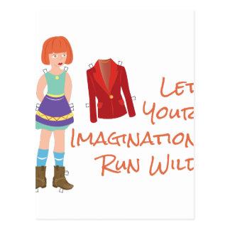 Carte Postale Votre imagination