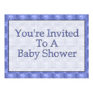 Carte Postale Vous êtes invités à un baby shower