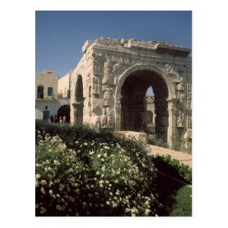 Carte Postale Voûte à quatre voies de Marcus Aurelius et de