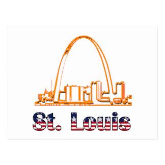 Carte Postale Voûte de Saint Louis