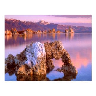 Carte Postale Voûte de tuf au lac mono