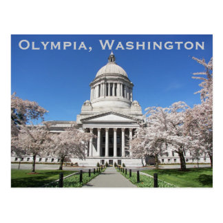 Carte Postale Voyage de capitol de l'état de Washington