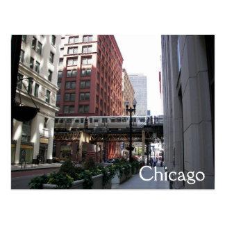 Carte Postale Voyage de Chicago