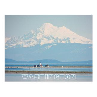 Carte Postale Voyage de l'état de Washington
