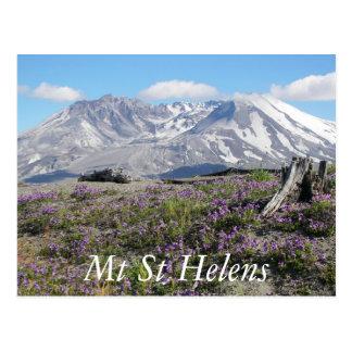 Carte Postale Voyage du Mont Saint Helens