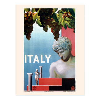Carte Postale Voyage italien de l'Italie des années 1930