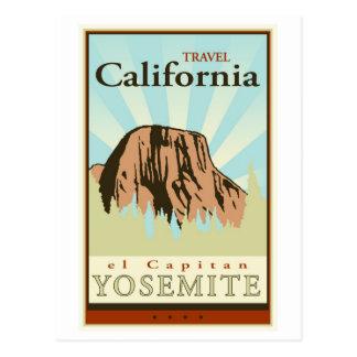 Carte Postale Voyage la Californie