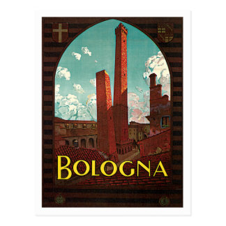 Carte Postale Voyage vintage de Bononia Italie de Bologna